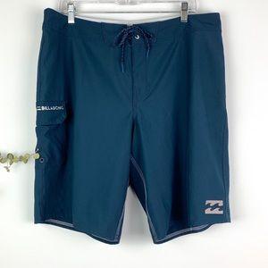 Billabong Men's Navy Blue All Day Boardshorts